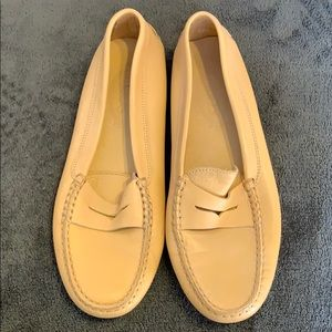 Tods leather slippers